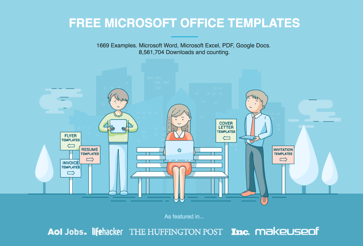 hundreds of free office document templates to download