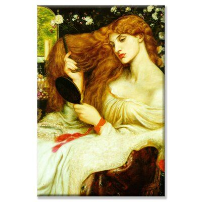 Buyenlarge Lady Lilith Painting Print on Wrapped Canvas | Wayfair