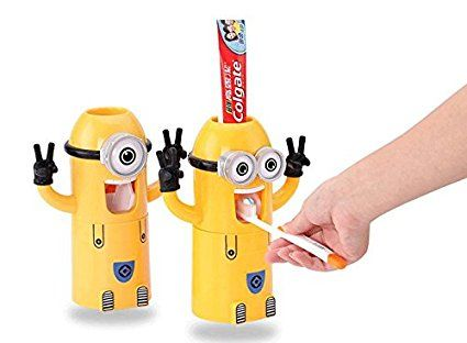 Cute Two Eyes Despicable Me Minions Design Combo Set