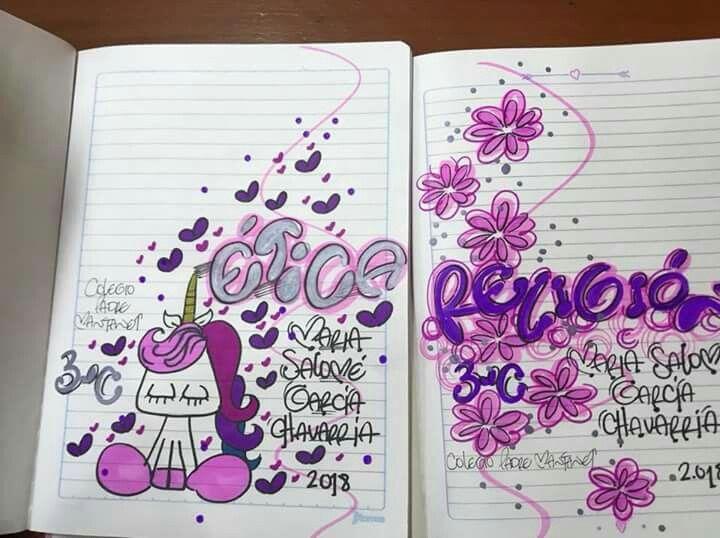 Dibujos Para Portadas De Cuaderno: Marcas De Cuadernos