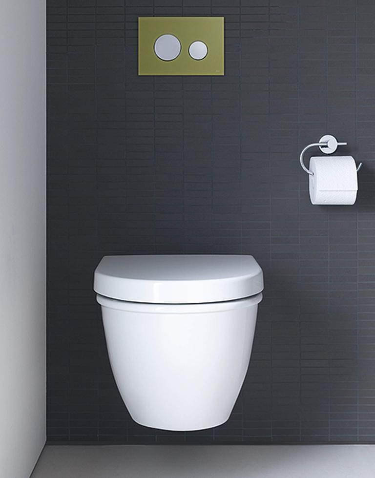 Darling New Toilet Wall Mounted 254509 Duravit New Toilet
