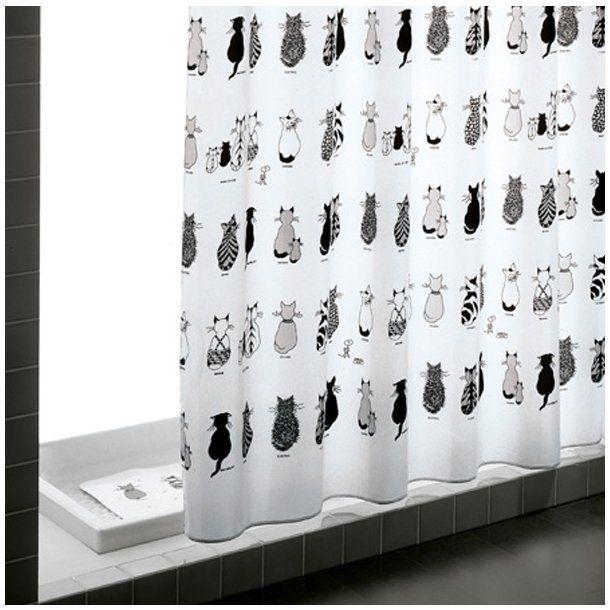 Gedy Bruseforhæng Cats 180 x 200 cm Indretning
