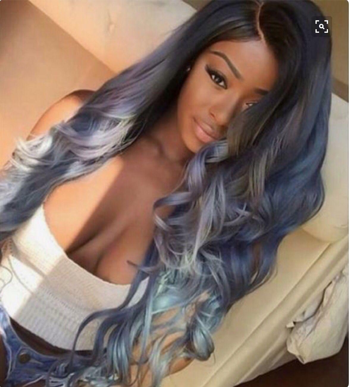 Pale blue hairwe itxoxo hair pinterest blue hair