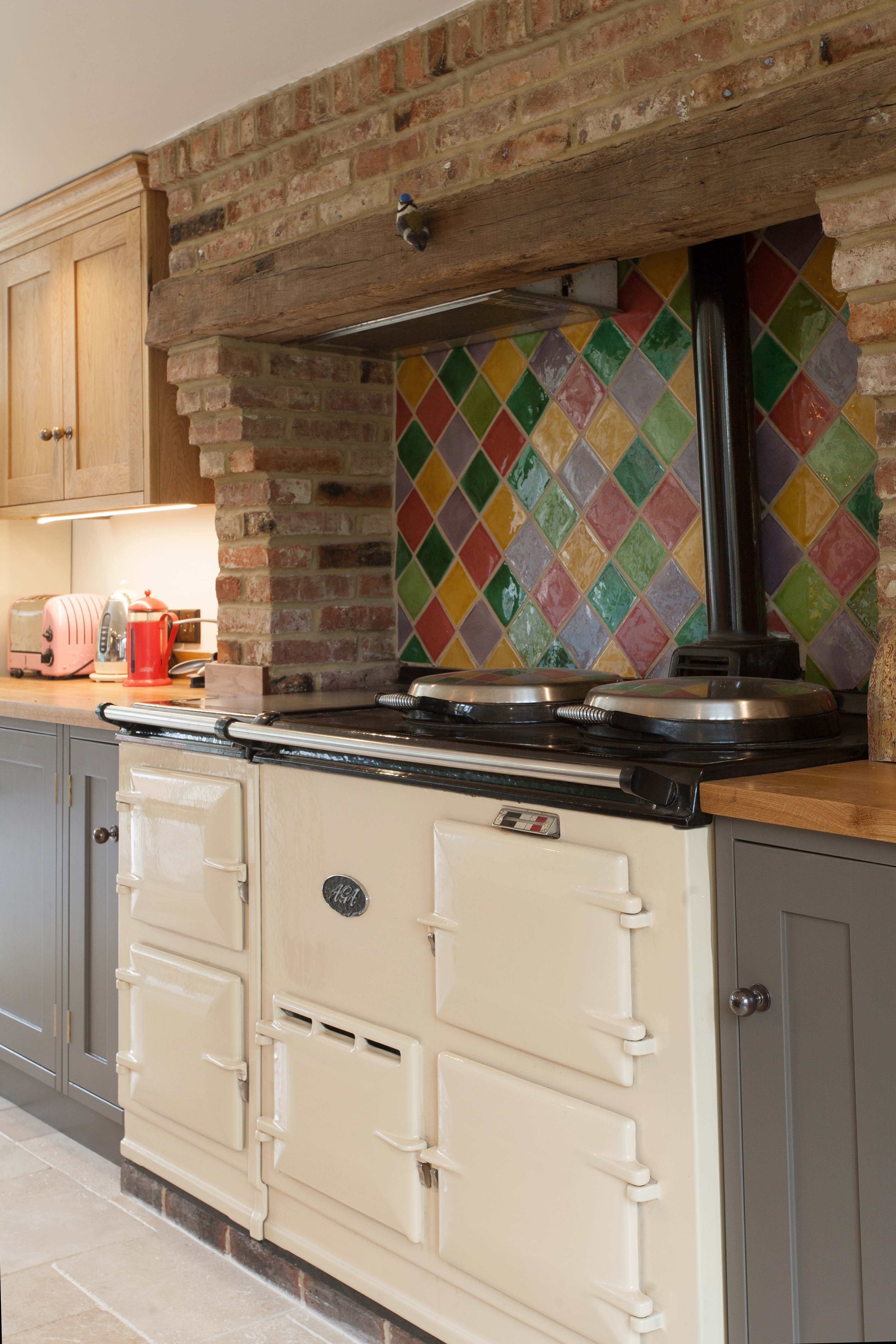 Quirky Kitchen Design With Aga Bishop S Waltham Anthony Edwards