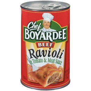 Chef Boyardee In Tomato Meat Sauce Beef Ravioli 40 Oz