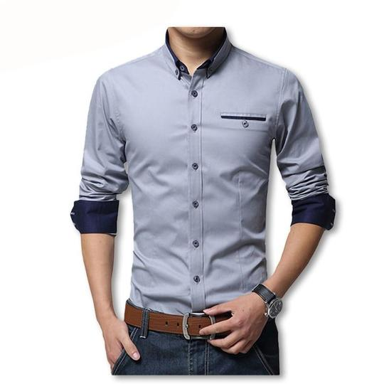 Eoeth Mens Solid Button Down Short Sleeve Cotton Linen Lapel Shirt Casual Business Slim Fit Tops Light Leisure Blouse