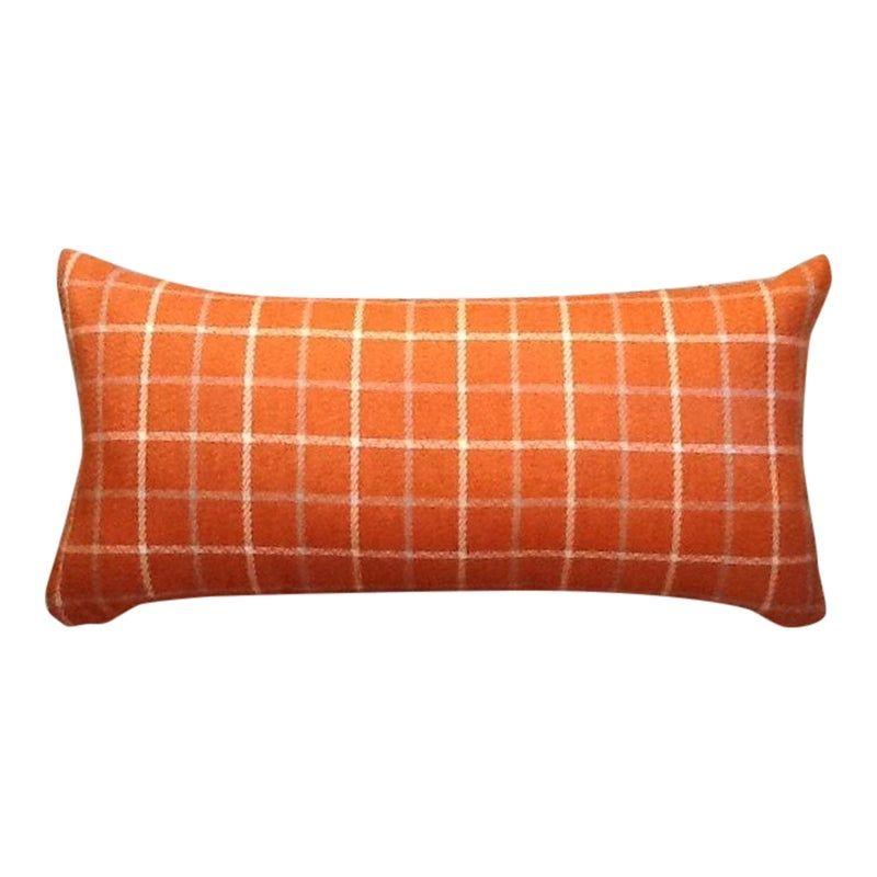 Custom Tweed Bolster Pillow | Bolster