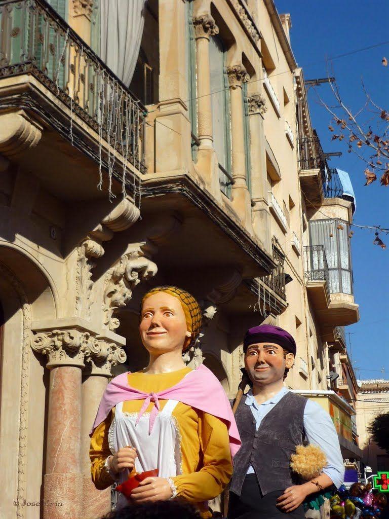 Gegants a Valls  Catalonia