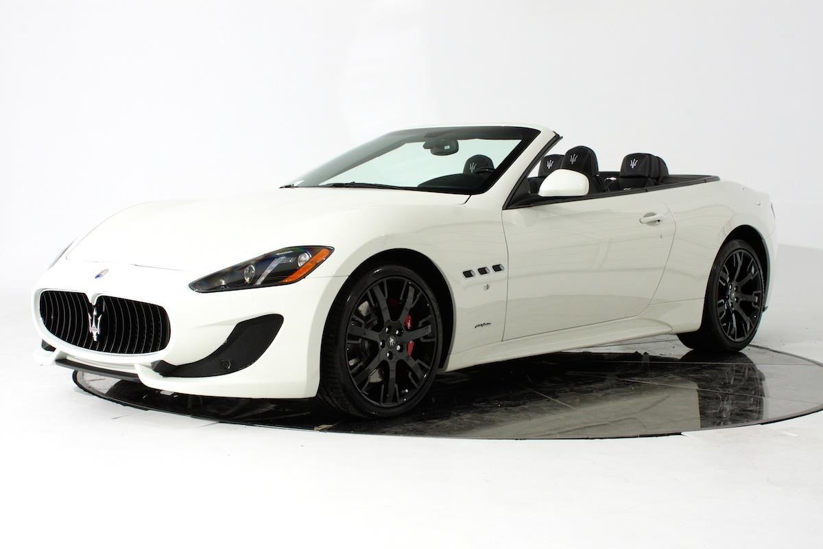 2014 Maserati GranTurismo Sport Sport 2dr Convertible