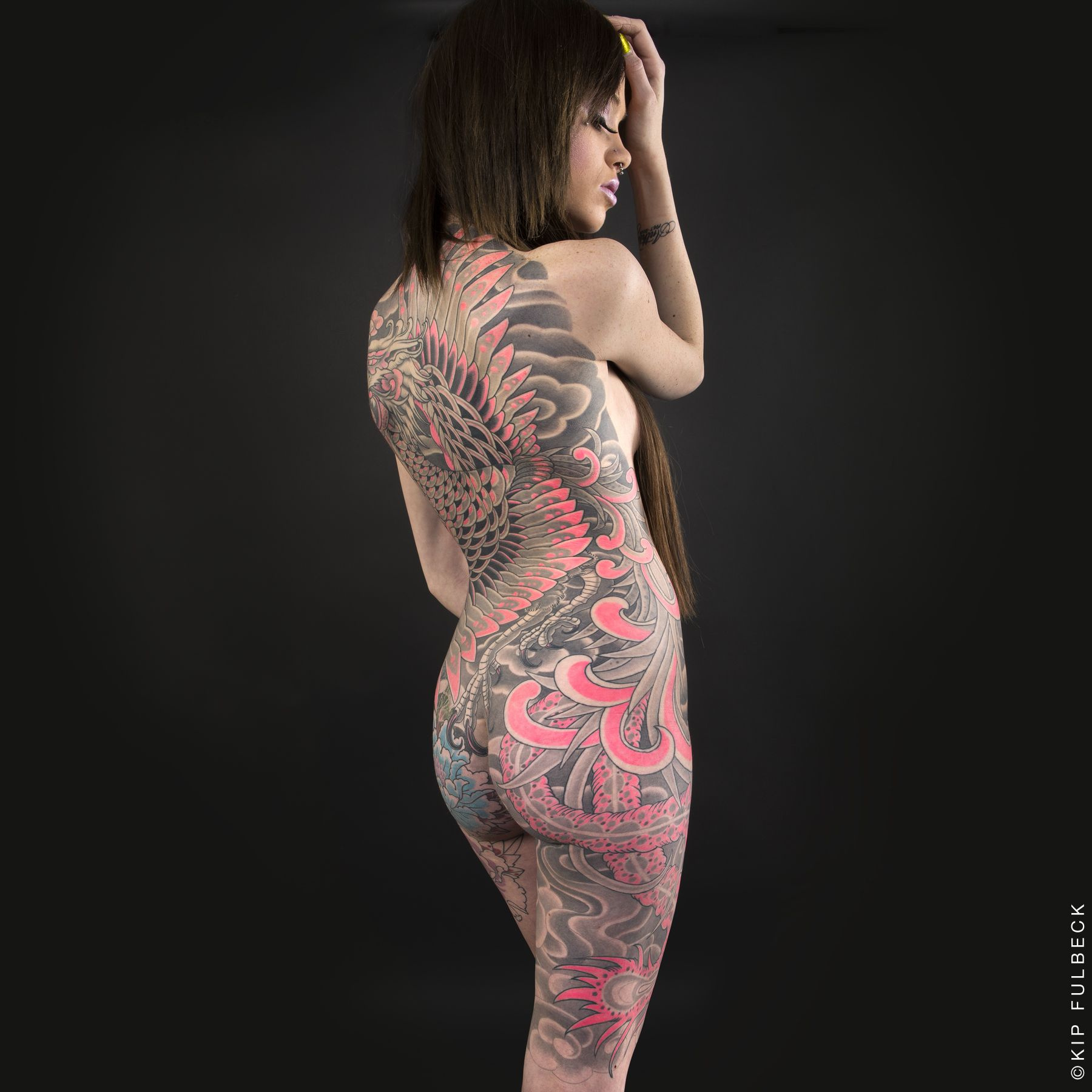 naked japanese women with japanese tattoos pics