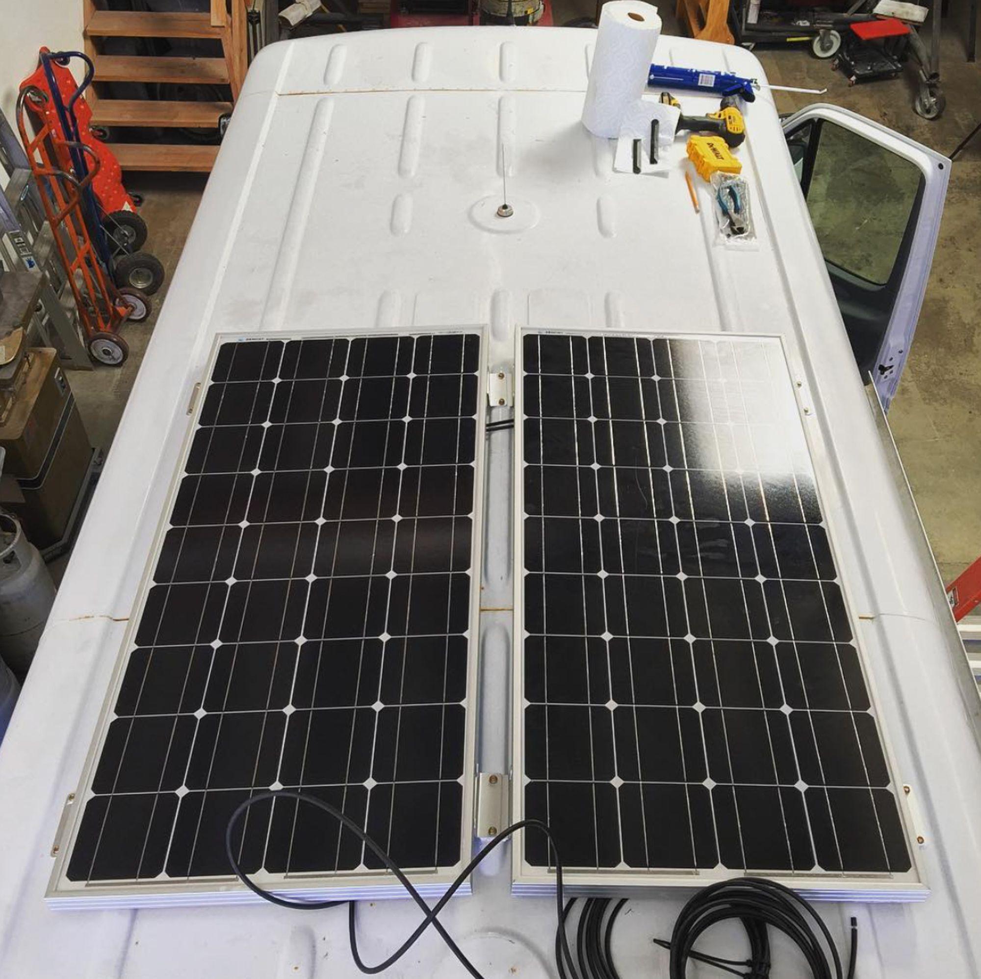Solar Panels VanLife VanConversion