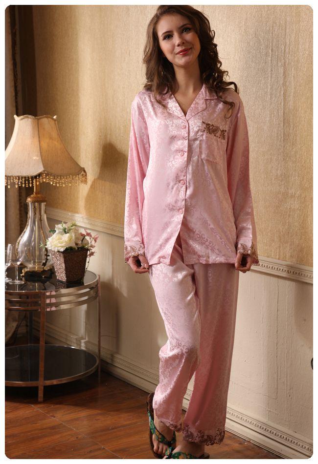 Satin pyjamas