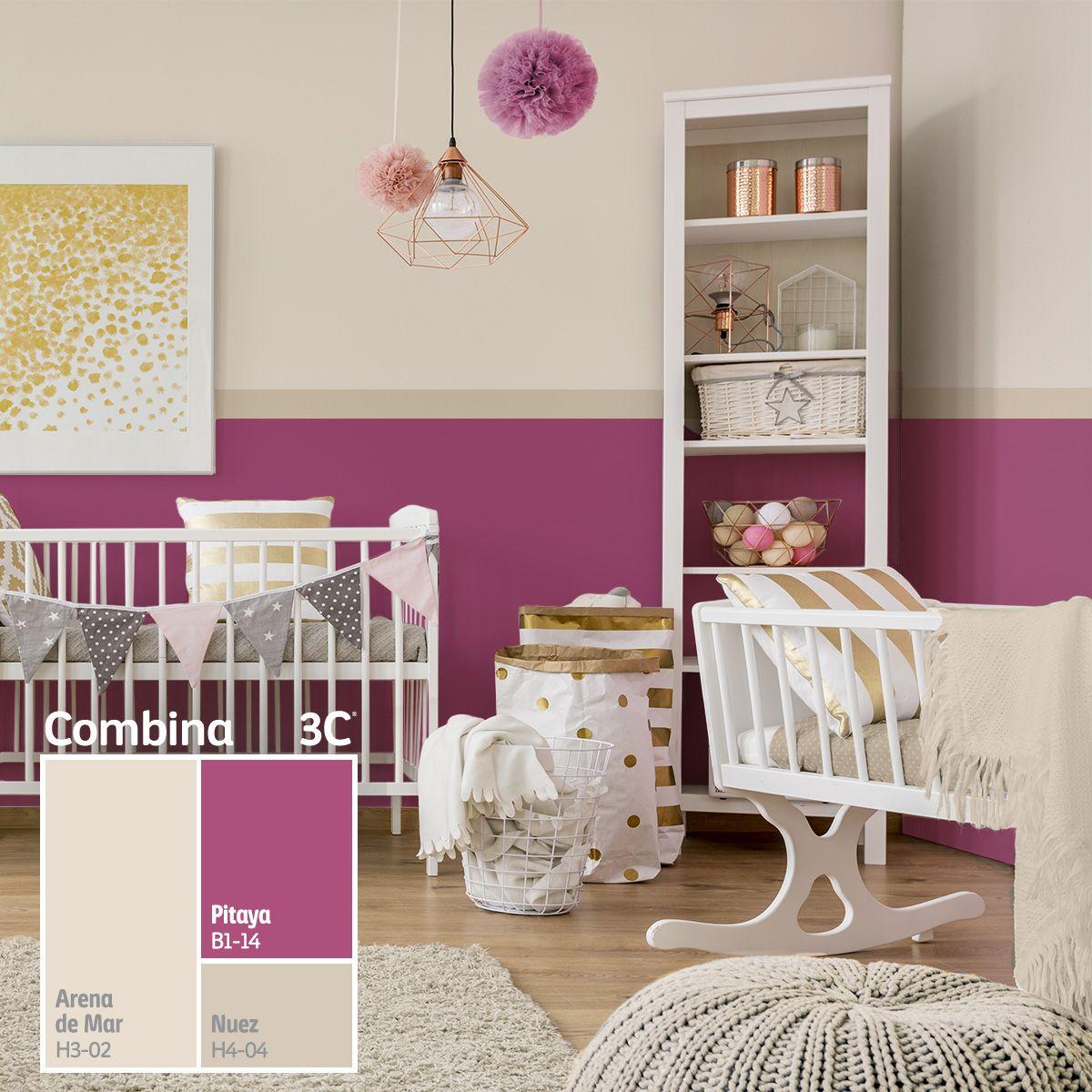 Pitaya nuestro color del mes es el tono ideal para - Color paredes casa ...
