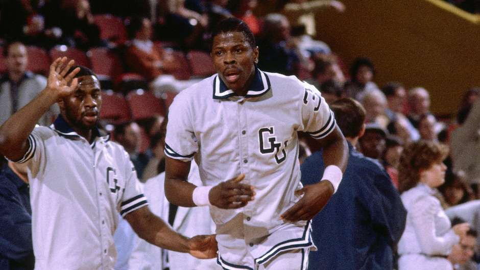 Patrick ewing then to the new york knicks