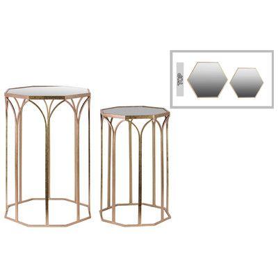 Urban Trends 2 Piece Nesting Table Set