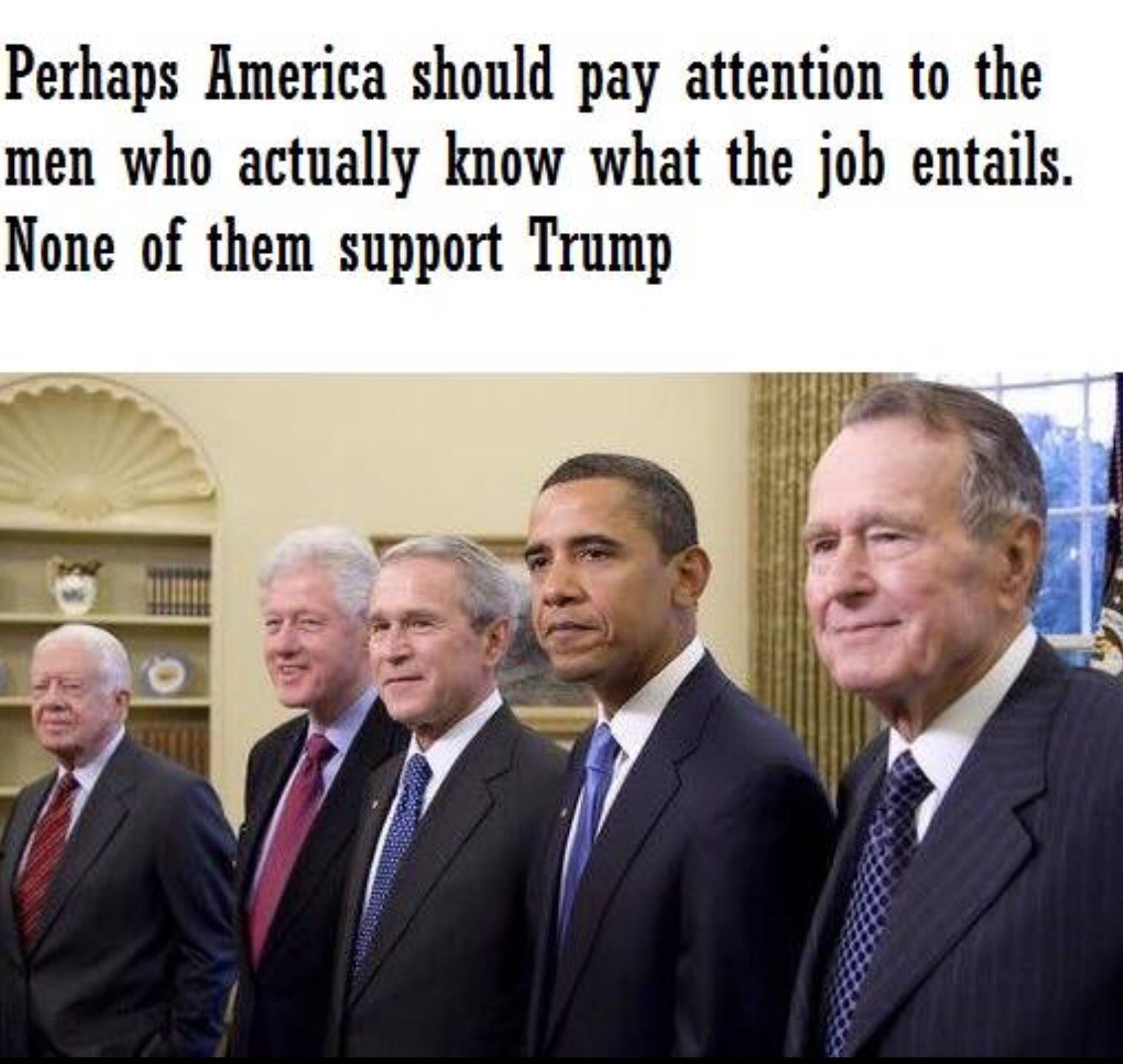 There isn't much these men agree on, but one thing they do...NOT TRUMP.