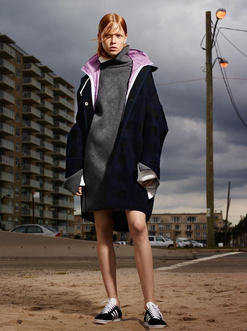'Diamonds On My Windshield' (Exit F.W 2014),  Dani Witt shot by Dario Catellani and styled by Catherine Newell-Hanson.