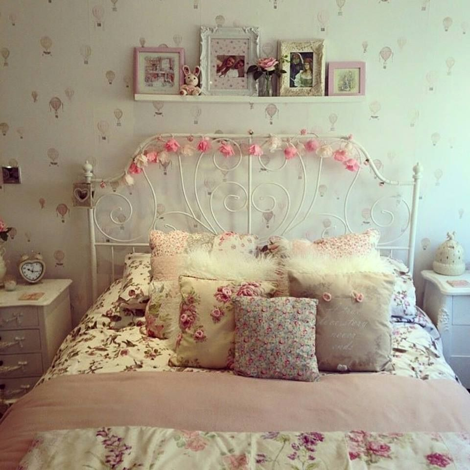 Resultado de imagem para quarto feminino adolescente romantico