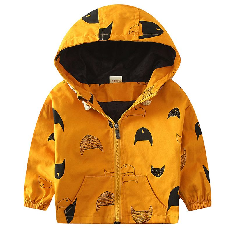 73f1d6921803 Hooded Children s Jackets 18M-8Y Kids Coats Boys Bomber Jacket Spring  Autumn Baby Boys Windbreaker Boys Outerwears New SC221