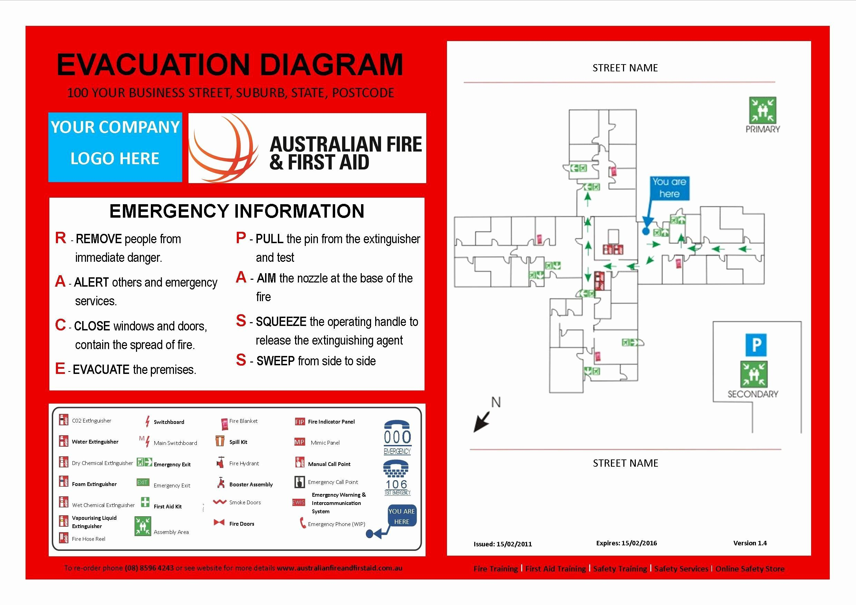 Emergency Evacuation Plan Template Free Beautiful ...