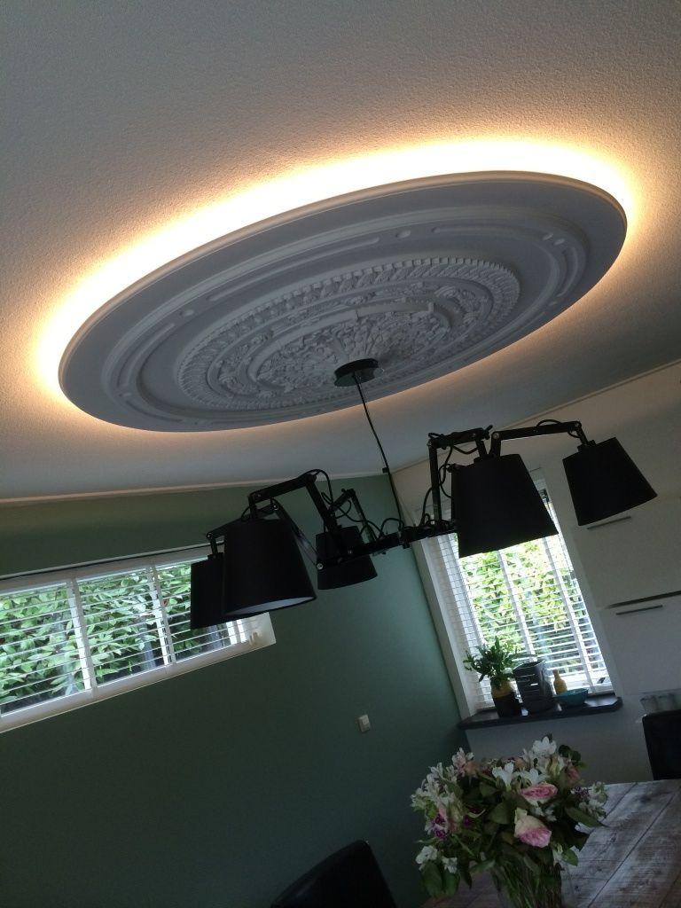 ceiling lamp hanglamp met ornament home > portfolio > Meubelen en ...