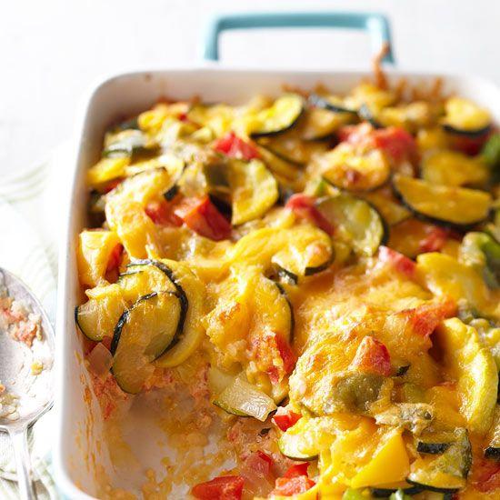 Veggie Packed Strata Recipe: Mashed Potato Veggie Strata