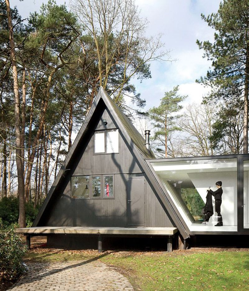 30 Amazing Tiny A-frame Houses That You'll Actually Want