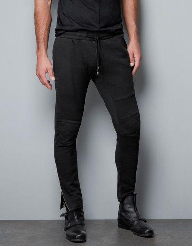 537c55aa PLUSH TROUSERS - Trousers - Man - ZARA United States | My Style ...