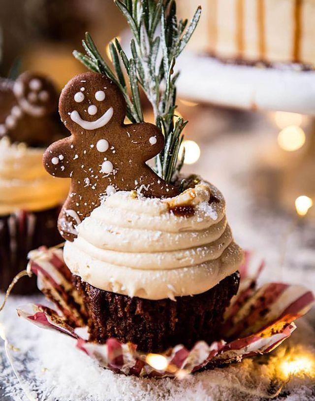 Фотография | Рождественские кексы, Рождественские десерты, Рождественские рецепты