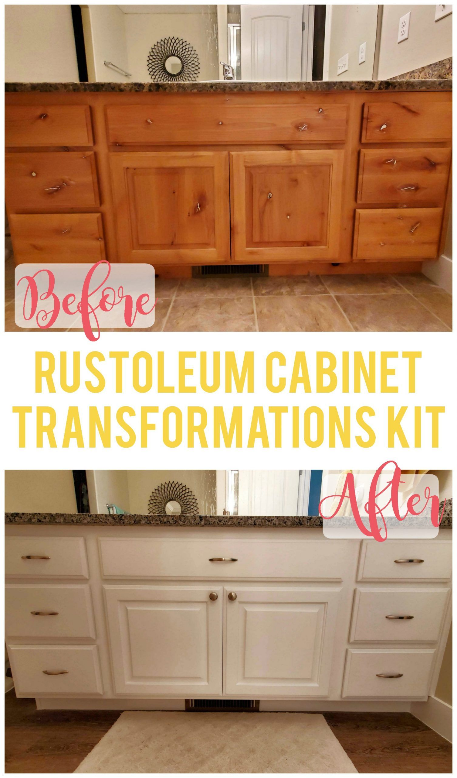 How To Use The Rustoleum Cabinet Transformations Kit Sunshine And Munchkins In 2020 Rustoleum Cabinet Transformation Rustoleum Cabinet Cabinet Transformations