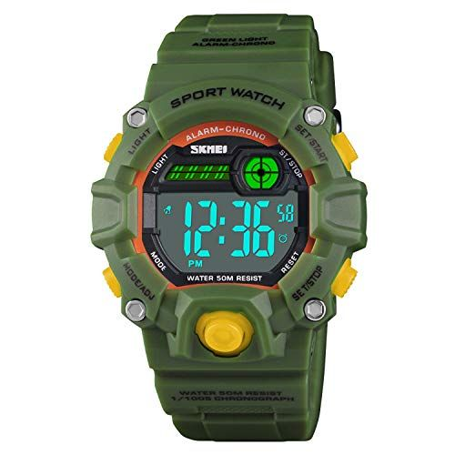Boys Camouflage LED Sports Watch,Waterproof Digital Electronic Casual Military Wrist Kids Sports Watch with Silicone Band Luminous Alarm Stopwatch Girls Watches #sportswatches Discover Boys Camouflage LED Sport Watch,Waterproof Digital Electronic Casual Military Wrist Kids Sports Watch with Silicone Band Luminous Alarm Stopwatch Watches. Explore our Boys Fashion section featuring new #shopping ideas of the best collection of  #BoysFashion #BoysWatches and #fashion products online at #Jodyshop In #sportswatches