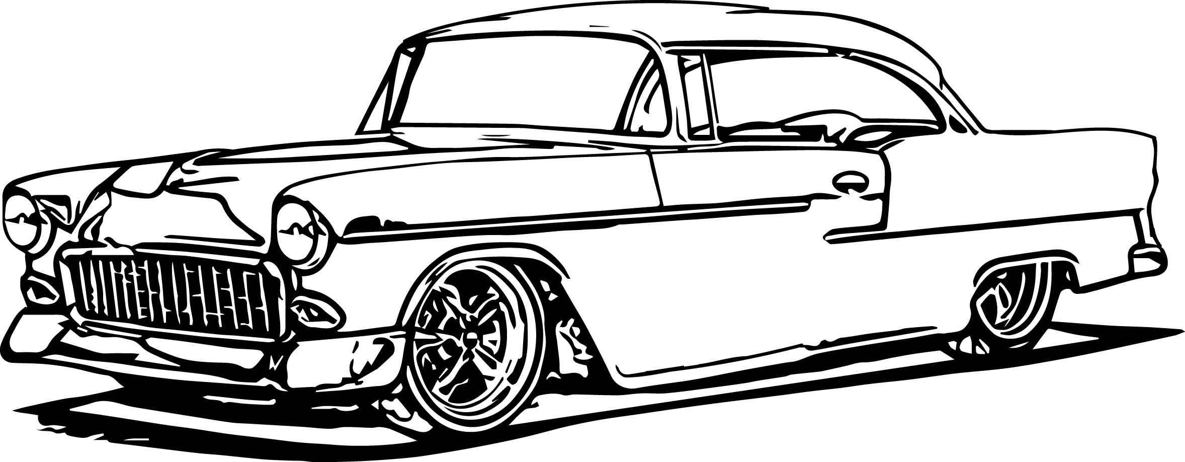 Coloring Pages Classic Cars Free Cars Coloring Pages Truck Coloring Pages Race Car Coloring Pages