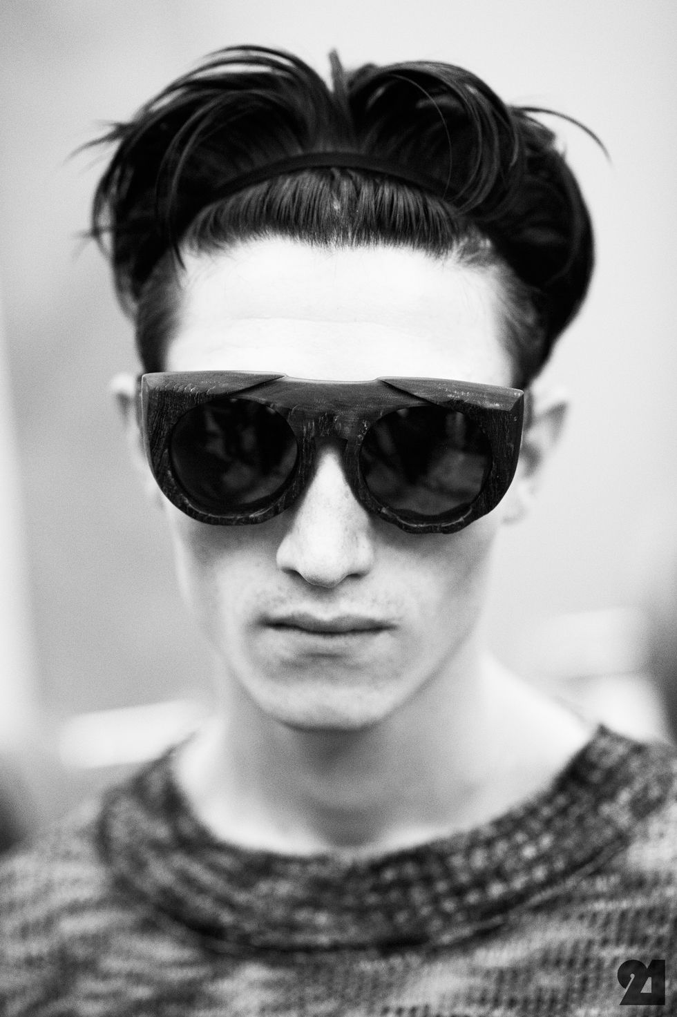 Haircuts for men with glasses backstage at tillmann lauterbach springsummer   spring summer