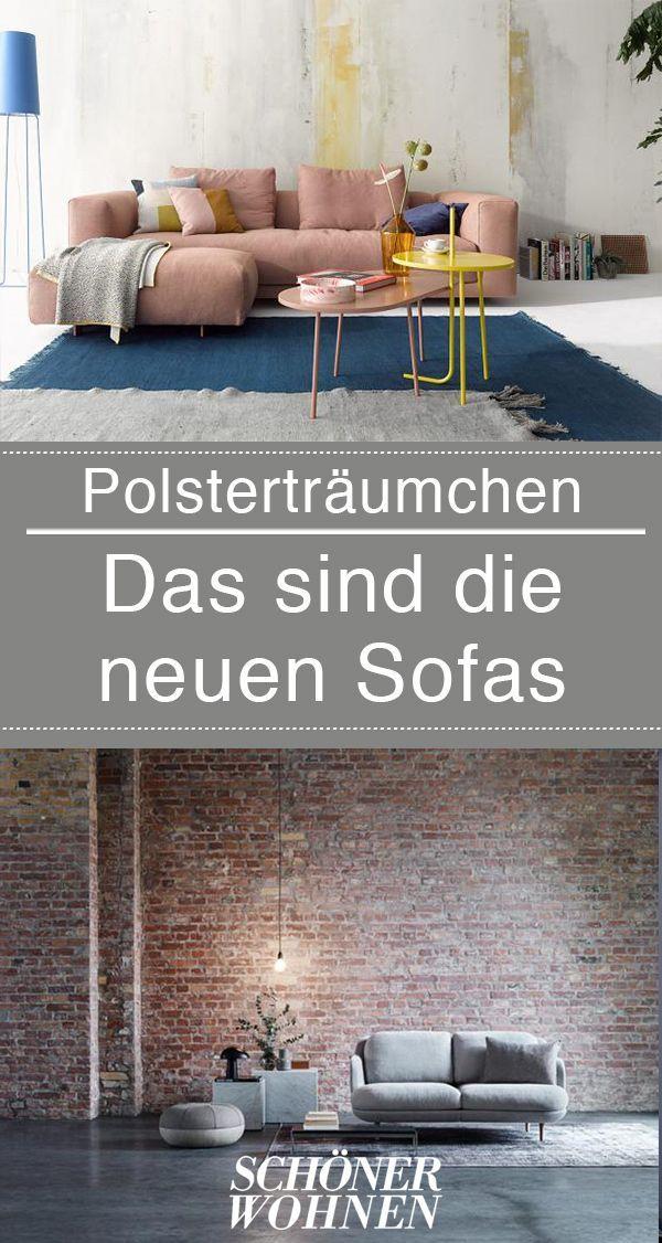 Lieblingssofas mit Leder- oder Stoffbezug | Sofa Wohnzimmer ...