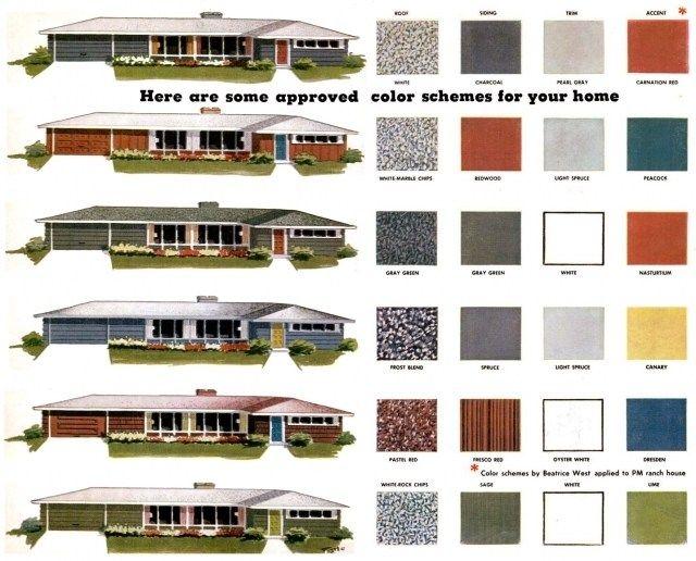 Exterior House Colors Für Die Ranch Stil Häuser Haus Exterior House ...