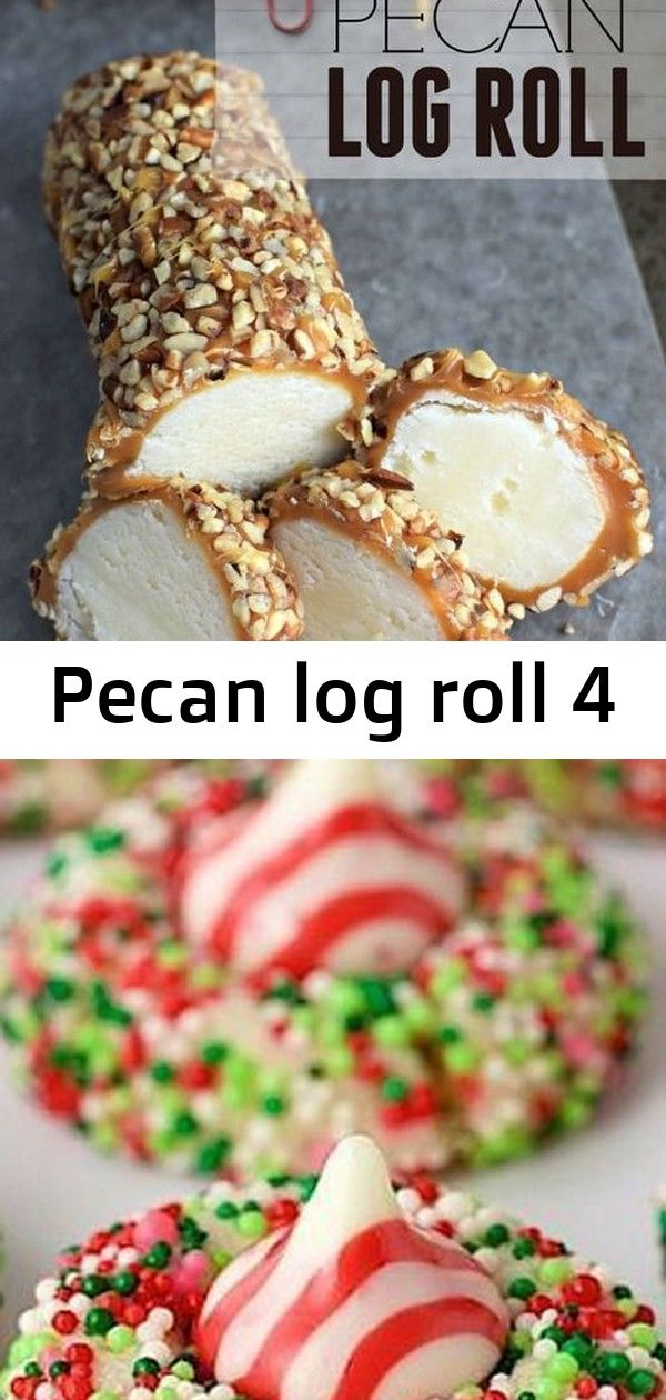 Pecan Log Roll CANDY CANE SHORTBREAD COOKIES The