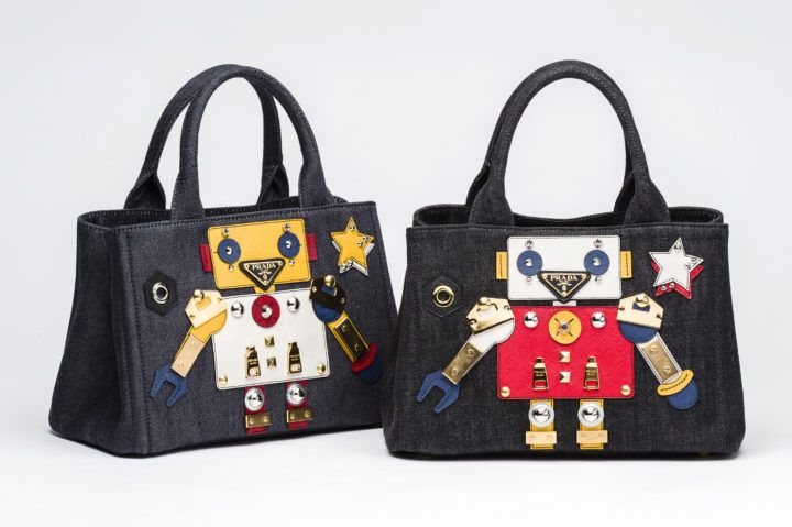 f9e18af238c2 Prada Robot Bags Capsule Collection