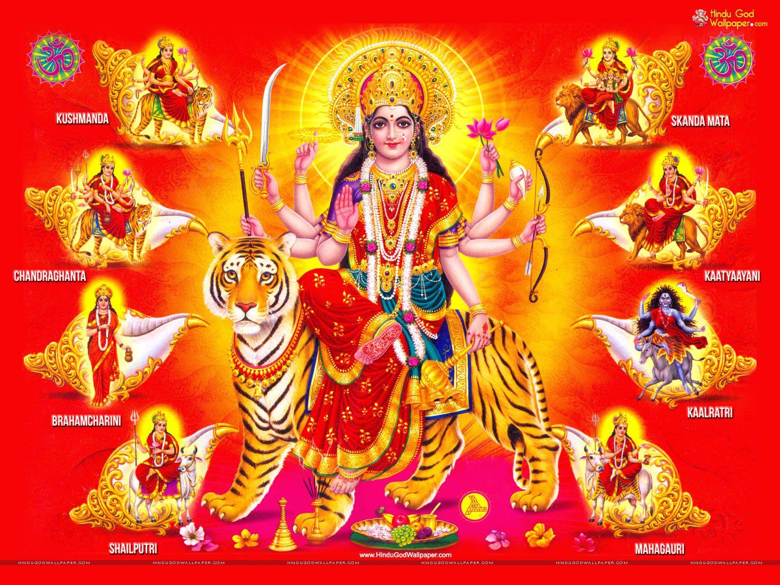 Wallpaper download maa durga - Nav Durga Free Maa Nav Durga Hd Wallpaper Download