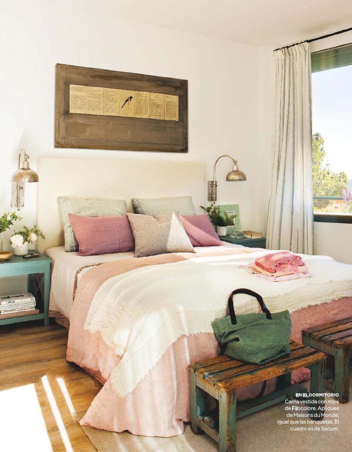 Pin de Cristina Martínez en Decorar | Pinterest | Dormitorio, Verde ...