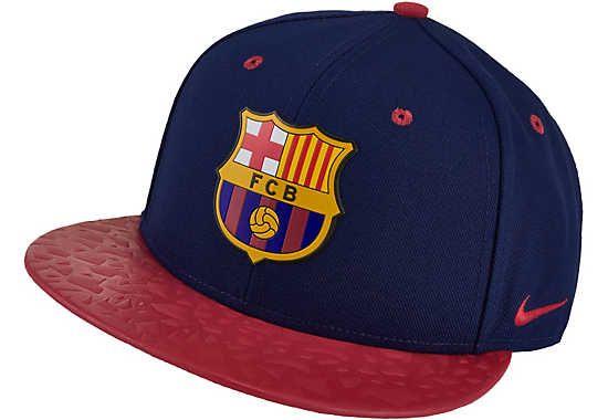 ea7b984faadcb Nike Barcelona True 2 Cap - Blue and Red