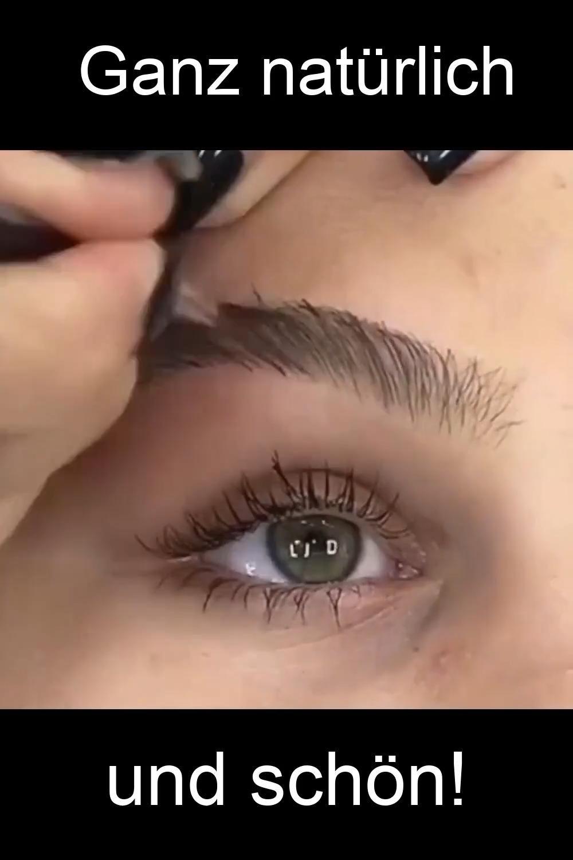 Dieser Augenbrauenstift erzeugt einen sofortigen M