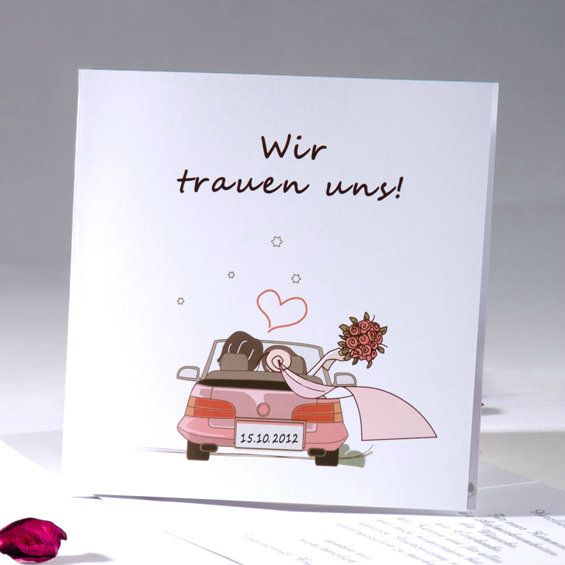pflanzen | weddings and wedding, Einladungsentwurf