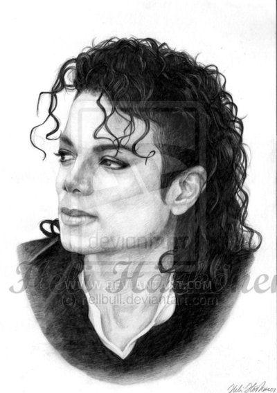 Michael Jackson - Bad portrait by hellbull.deviantart.com on @deviantART