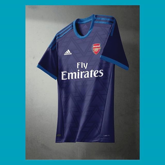 Is this the 2019-20 Arsenal x  adidasfootball away shirt    francescocolludesign . . .  arsenal  adidas  adidasfootball  concept  art   design  premierleague ... 05d52ad2c