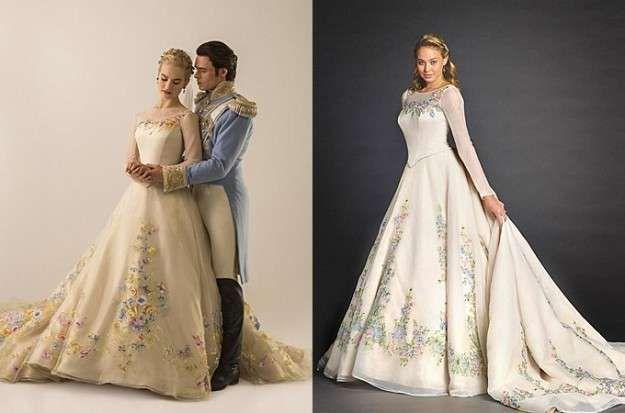 vestidos de novia inspirados en princesas disney: fotos de los