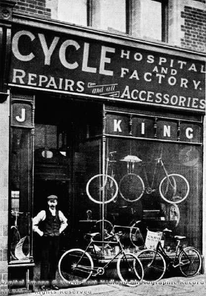 Old Bike Shop Cycle Hospital And Factory Bicycle Shop Cycle Shop Vintage Cycles