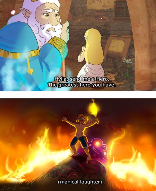 This Sums Me Up When I Get Really Bored In Botw Legend Of Zelda Memes Zelda Funny Legend Of Zelda