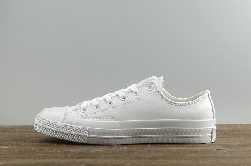 2018 Official Unisex Converse Chuck Taylor All Star 1970s Low All White  155455 04ccfd13590c