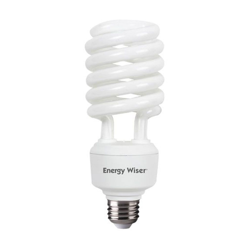 40w Cfl T4 Coil 5000k E26 120v Compact Fluorescent Coil Bulb Sold As 12 Light Bulb Fluorescent Light Bulb Bulb