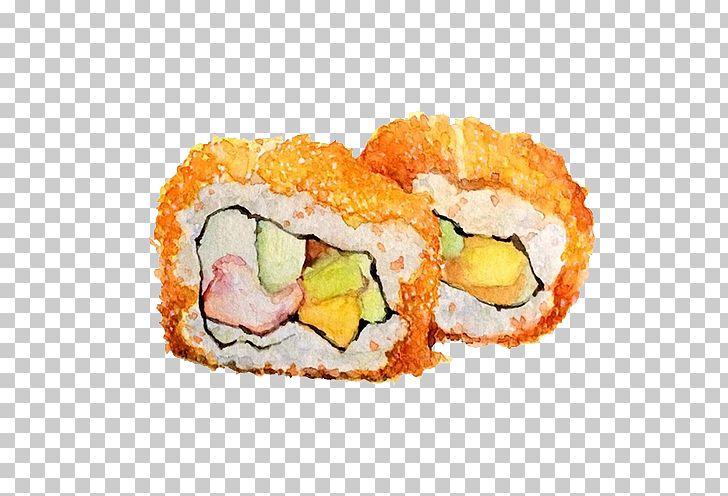 Sushi Gimbap Japanese Cuisine Makizushi Watercolor Painting Png Clipart Asian Food California Roll Chinese Style Cho Japanese Cuisine Asian Recipes Gimbap
